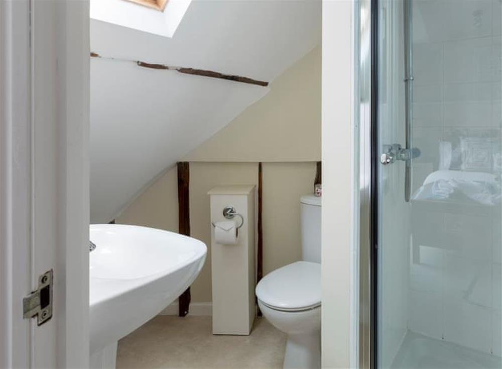 En-suite at Seaview in Dartmouth, Devon