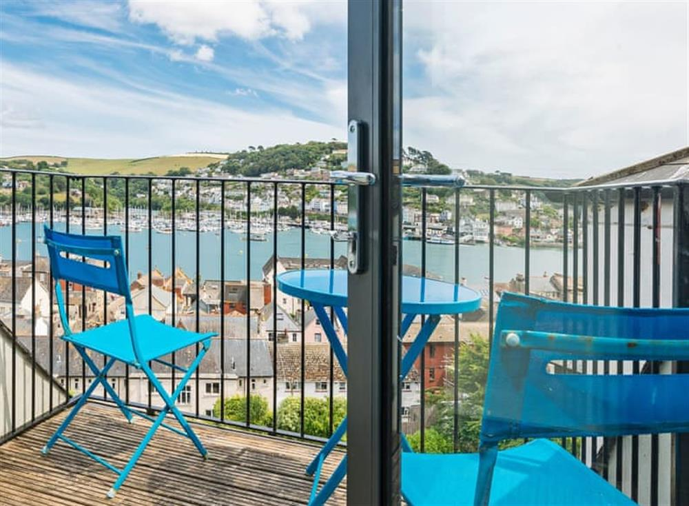 Inviting balcony at Seaview in Dartmouth, Devon