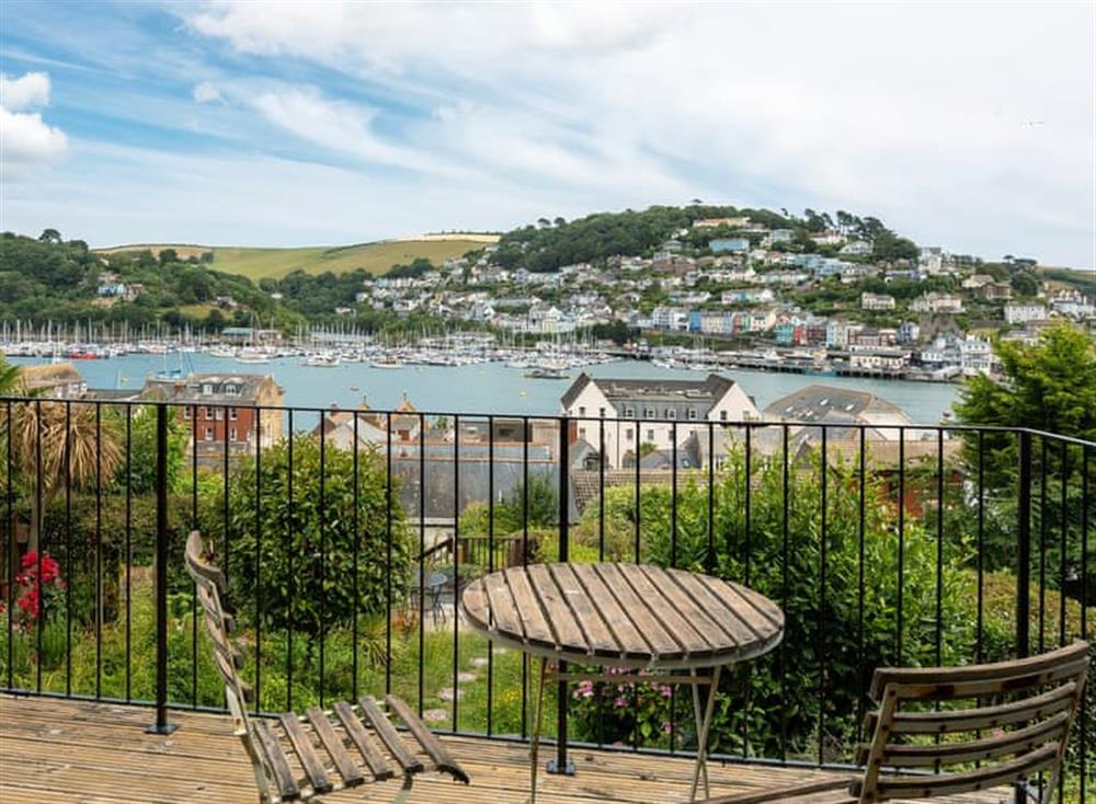Relaxing sitting-out-area with amazing views (photo 2) at Seaview in Dartmouth, Devon