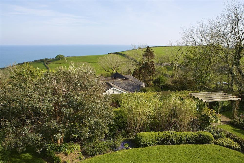 Gardens at Seaway House in , Strete