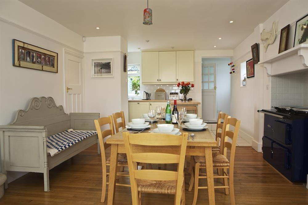 Kitchen/dining room at Seaway House in , Strete