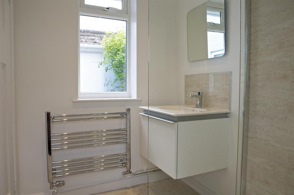 Newly refurbished shower room on ground floor (photo 2) at Seaway House in , Strete