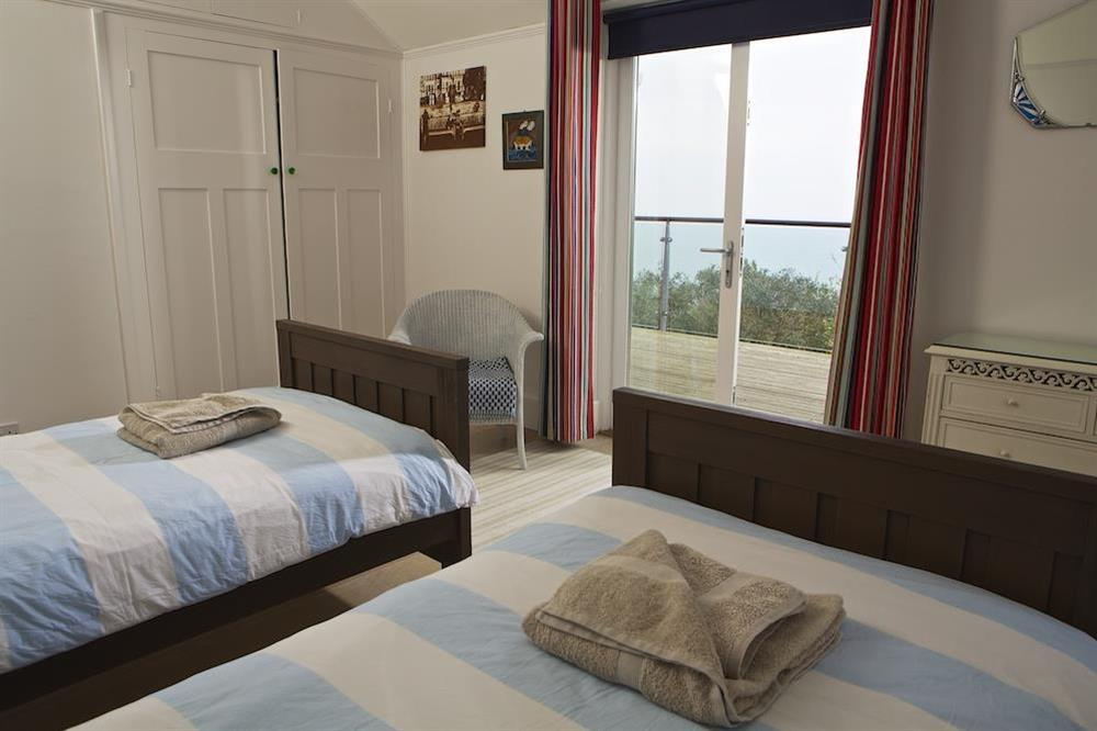Twin bedroom at Seaway House in , Strete