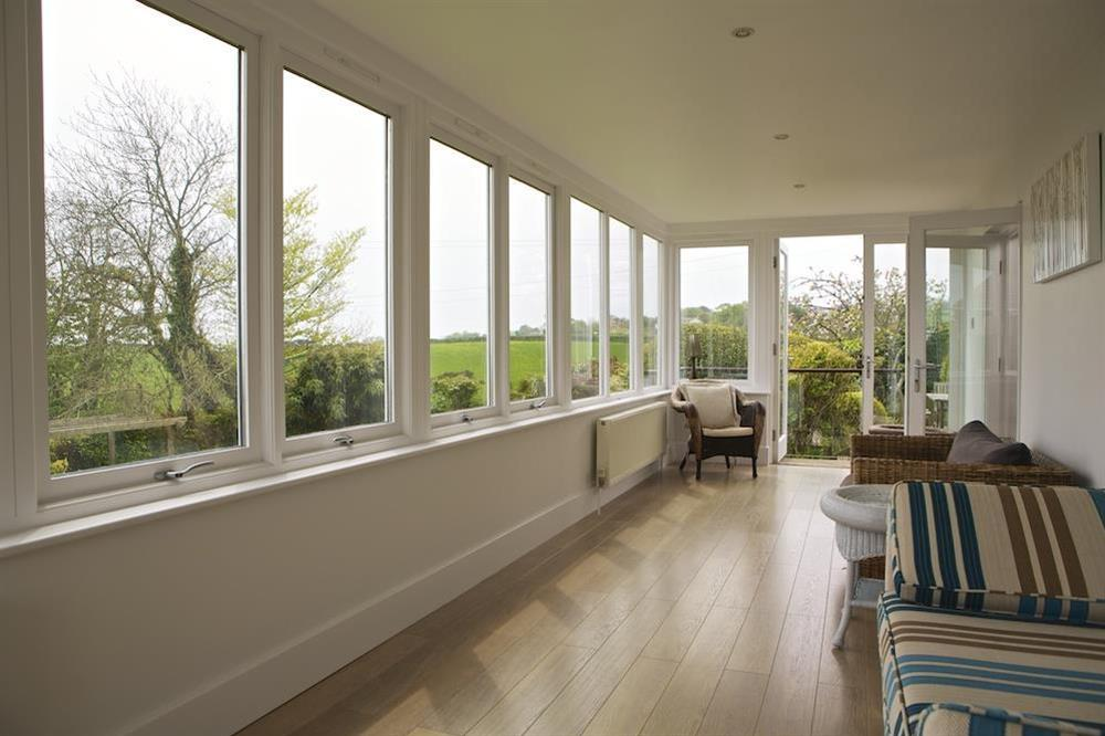 Very spacious sunroom with stunning views (photo 2) at Seaway House in , Strete