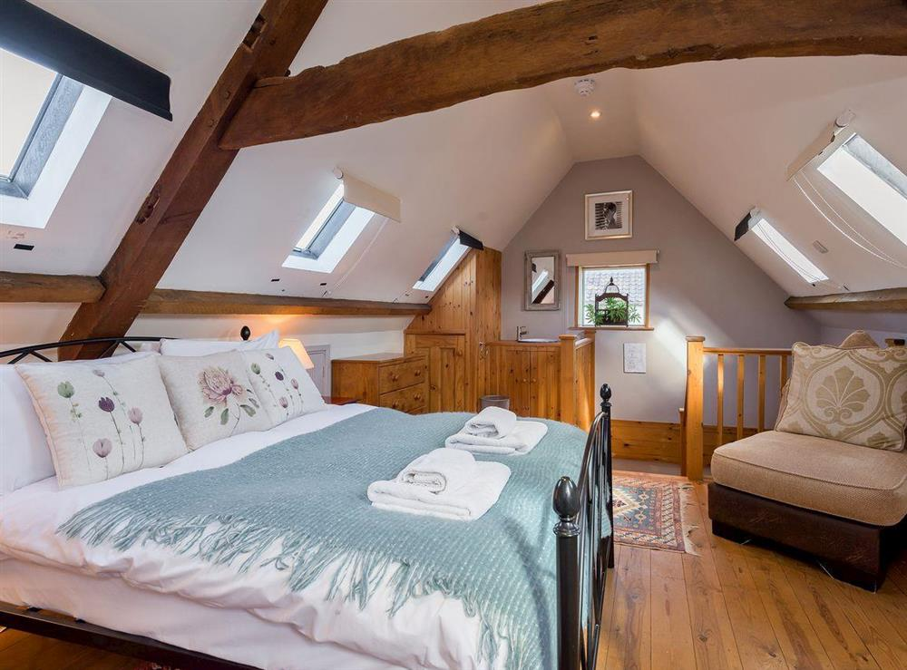 Double bedroom at The Sedgeford Hall,