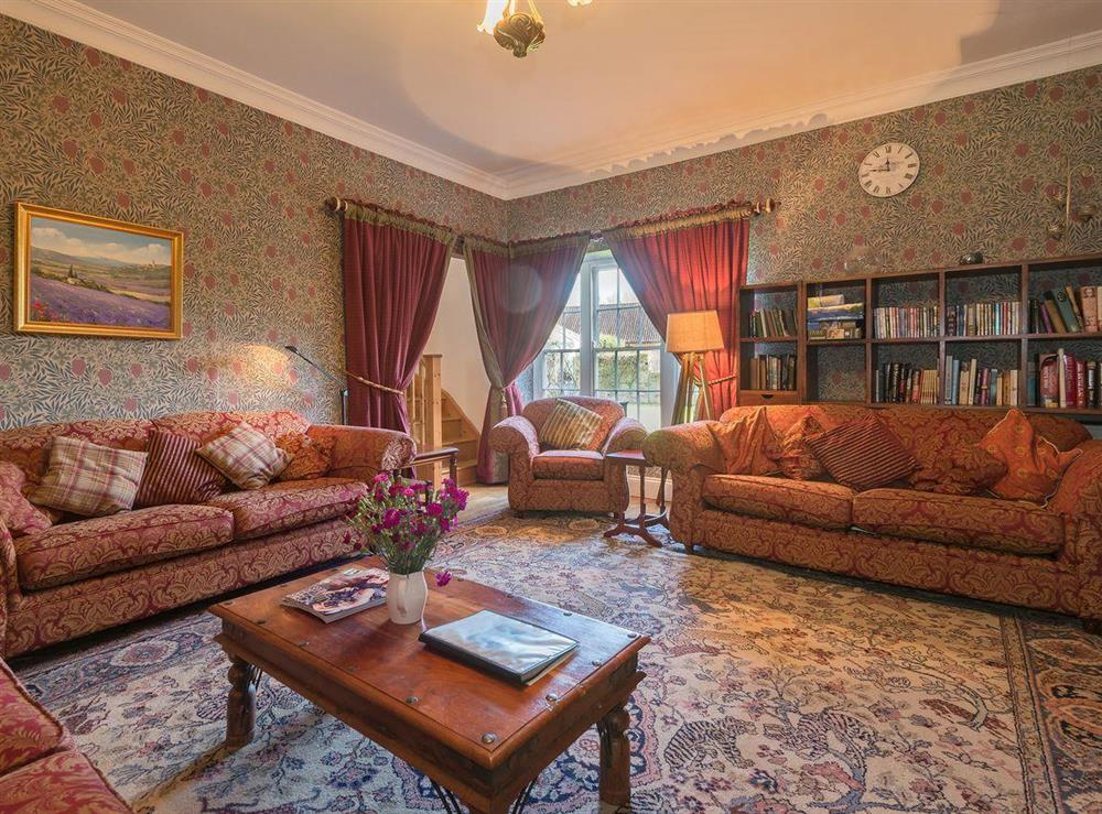 Drawing room at The Sedgeford Hall,