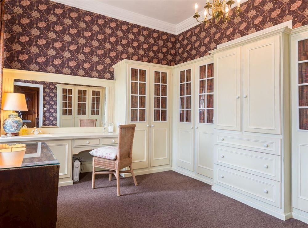 Dressing room at The Sedgeford Hall,