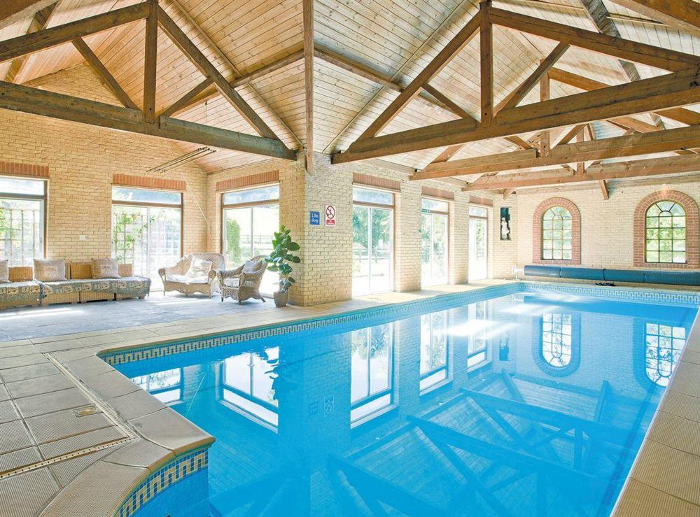 Indoor swimming pool at The Sedgeford Hall,