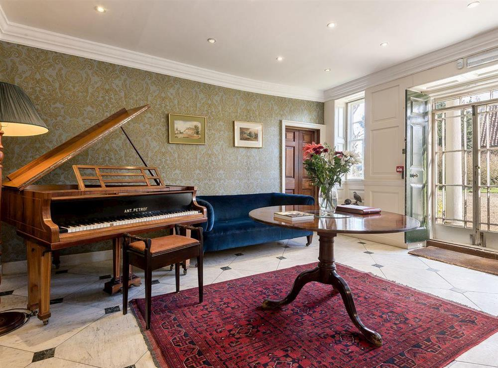 Music room with piano (photo 2) at The Sedgeford Hall,