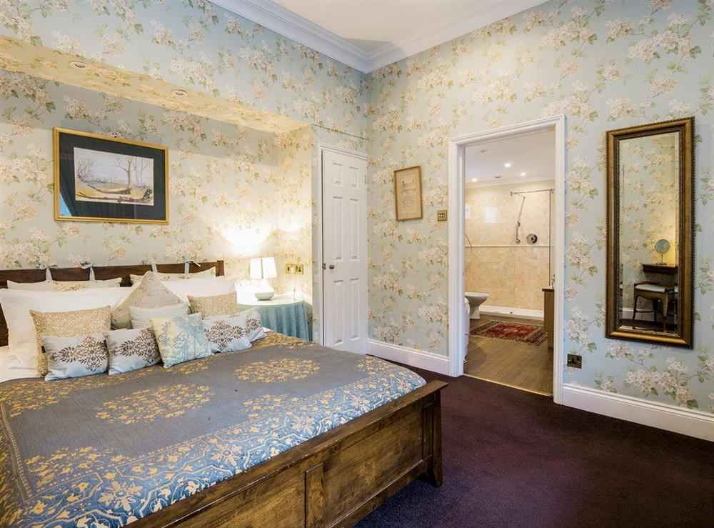 Spacious double bedroom with en-suite at The Sedgeford Hall,