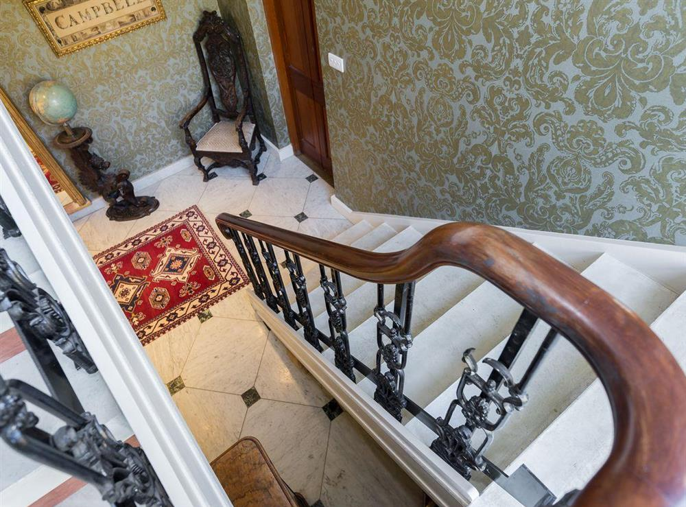 Staircase at The Sedgeford Hall,