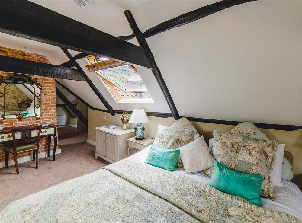 Top floor double bedroom at The Sedgeford Hall,