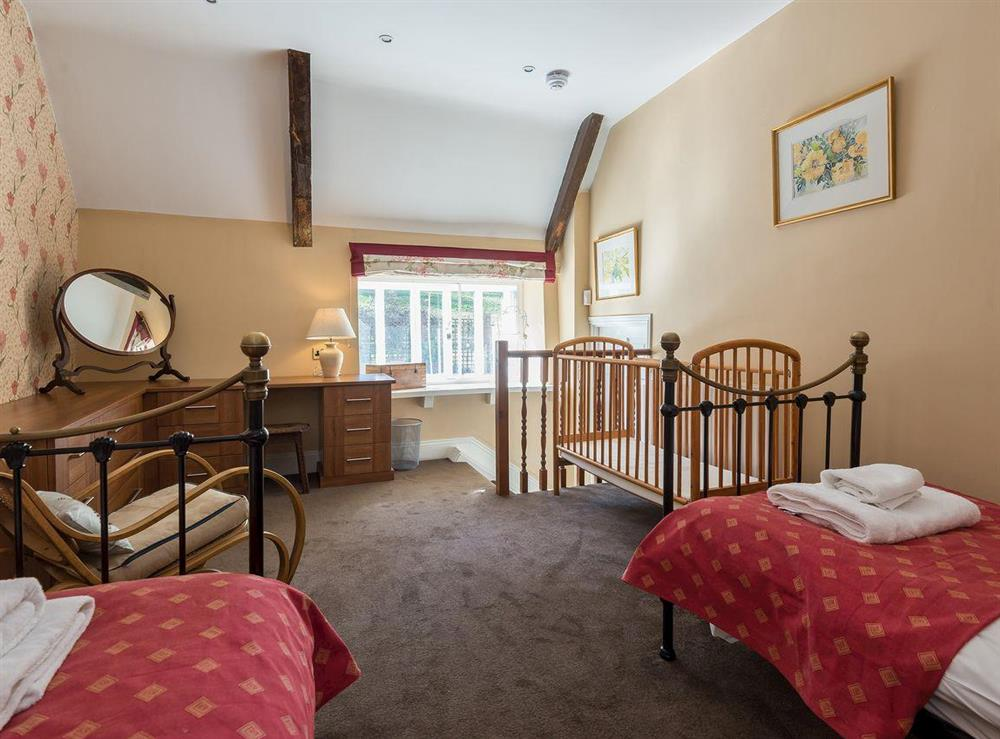 Twin bedroom at The Sedgeford Hall,