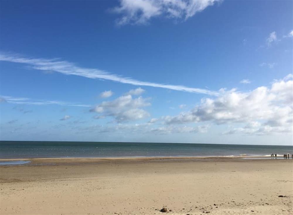 Miles of golden sands adorn the Norfolk coast