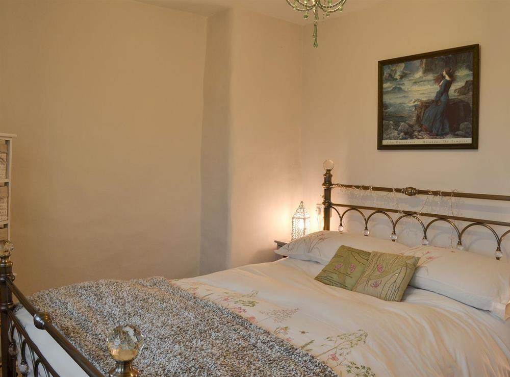 Double bedroom at Serenity Cottage in Oxenhope, near Haworth, West Yorkshire