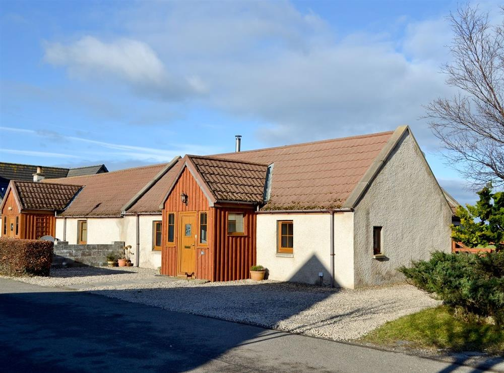 Exterior at Shedend in Nether Dallachy, near Spey Bay, Morayshire