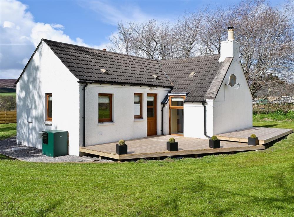 Exterior at Shenval Cottage in Glenlivet, near Ballindalloch, Banffshire
