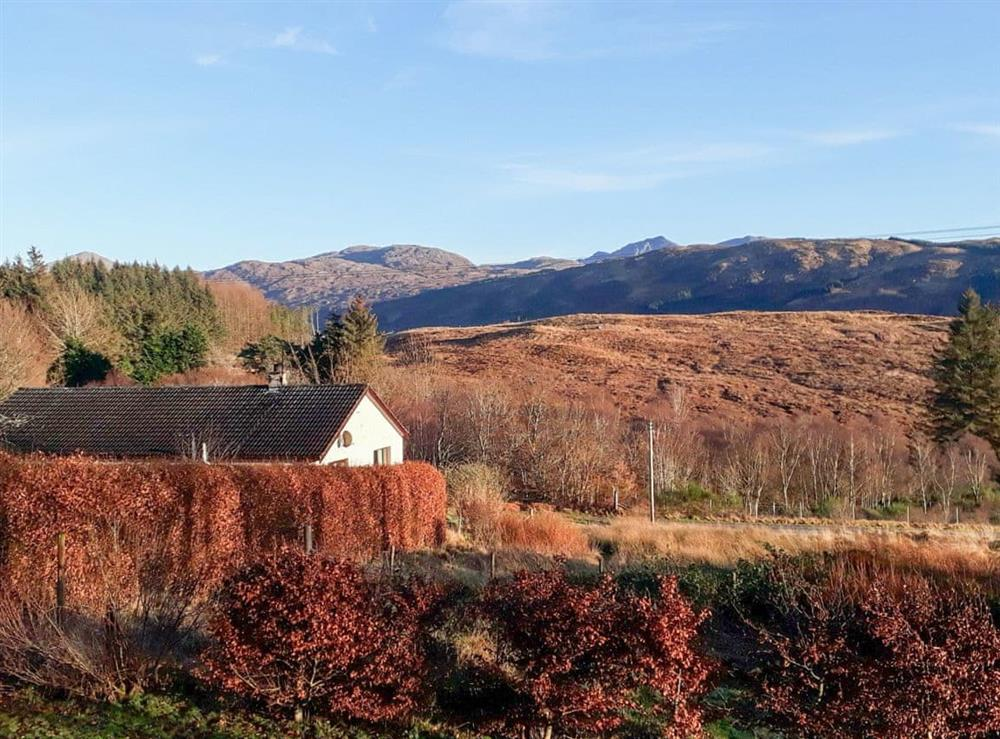 View at Shepherds Hut At Craig Innes in Upper Scotstown, near Strontian, Argyll