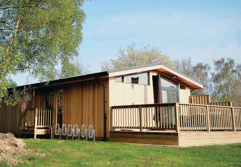 Typical Hideaway Lodge 2 at Sherwood Hideaway Lodges in Perlethorpe, Newark-on-Trent, Nottinghamshire