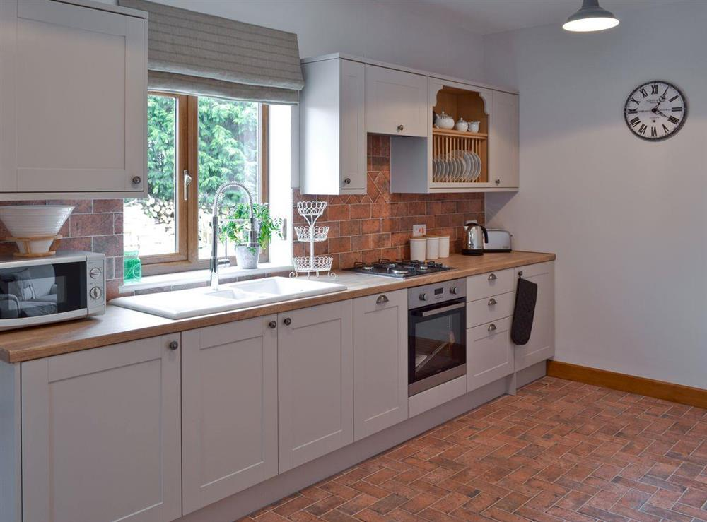 Kitchen at Shires Loft in Whitchurch, Shropshire