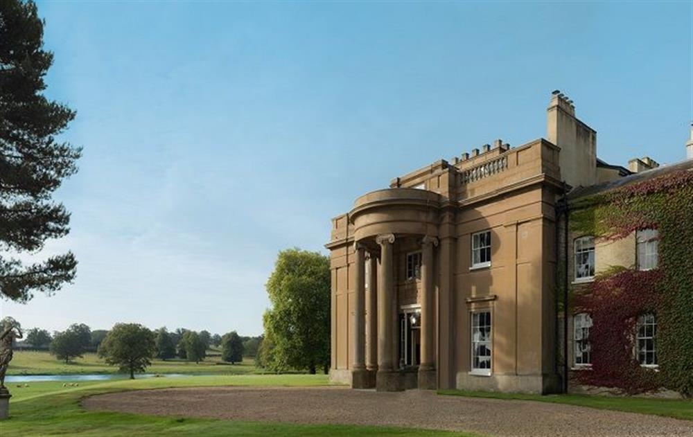 The grand Georgian Manor House at Sibton Park at Sibton Park, Sibton Park