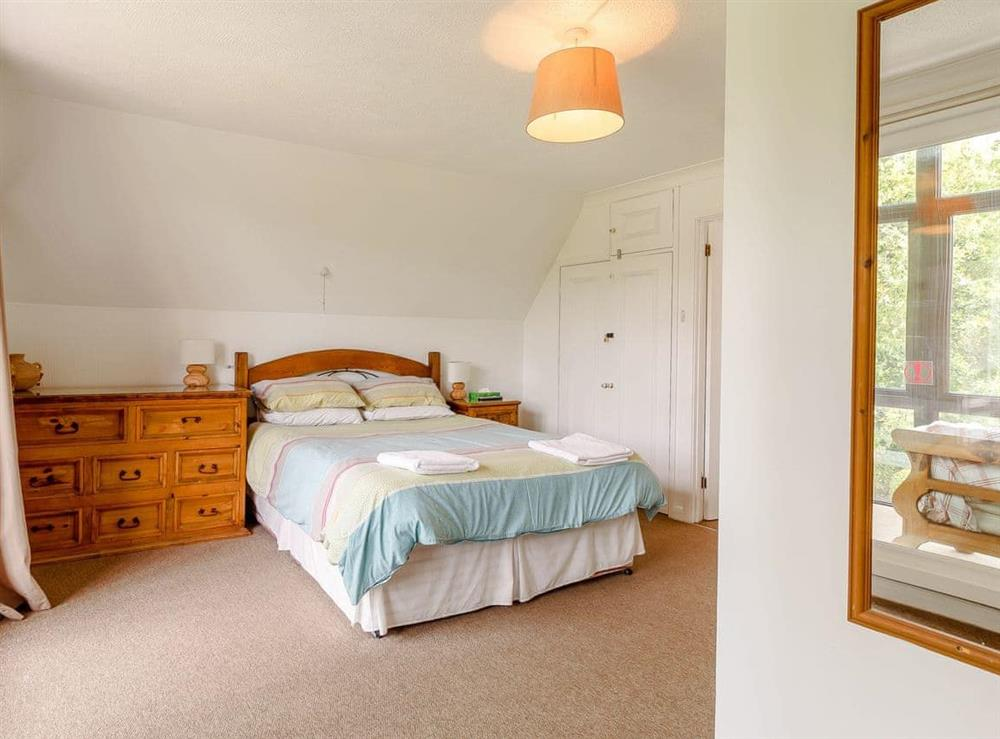 Double bedroom at Silver Waters in Hoveton, Norwich, Norfolk., Great Britain