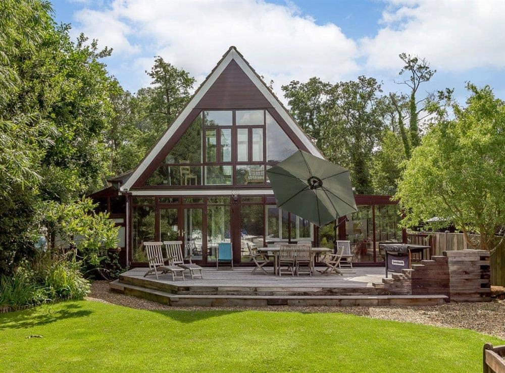 Exterior at Silver Waters in Hoveton, Norwich, Norfolk., Great Britain