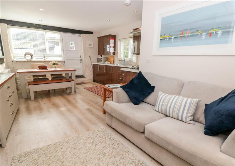 The living area at Simples, Dartmouth