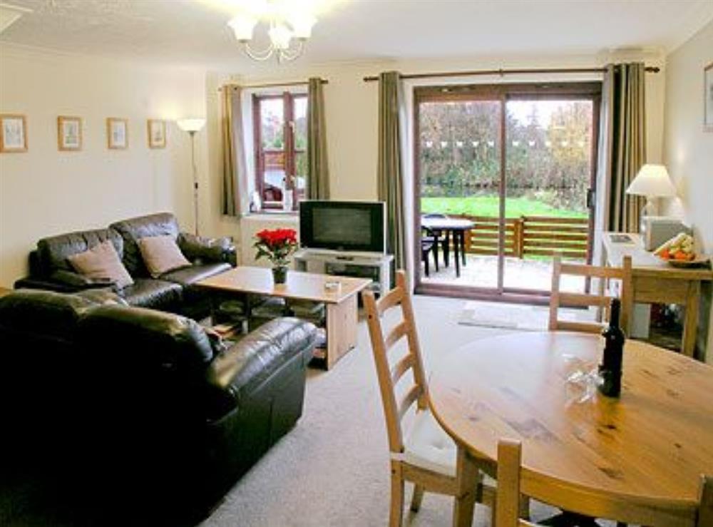 Living room/dining room at Skipper in East Ruston, Norfolk