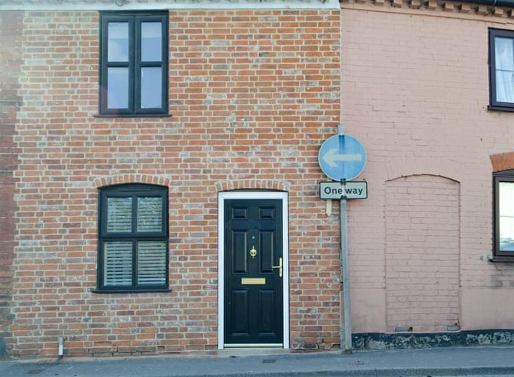 Traditional terraced holiday home at Skippings in Beccles, Suffolk