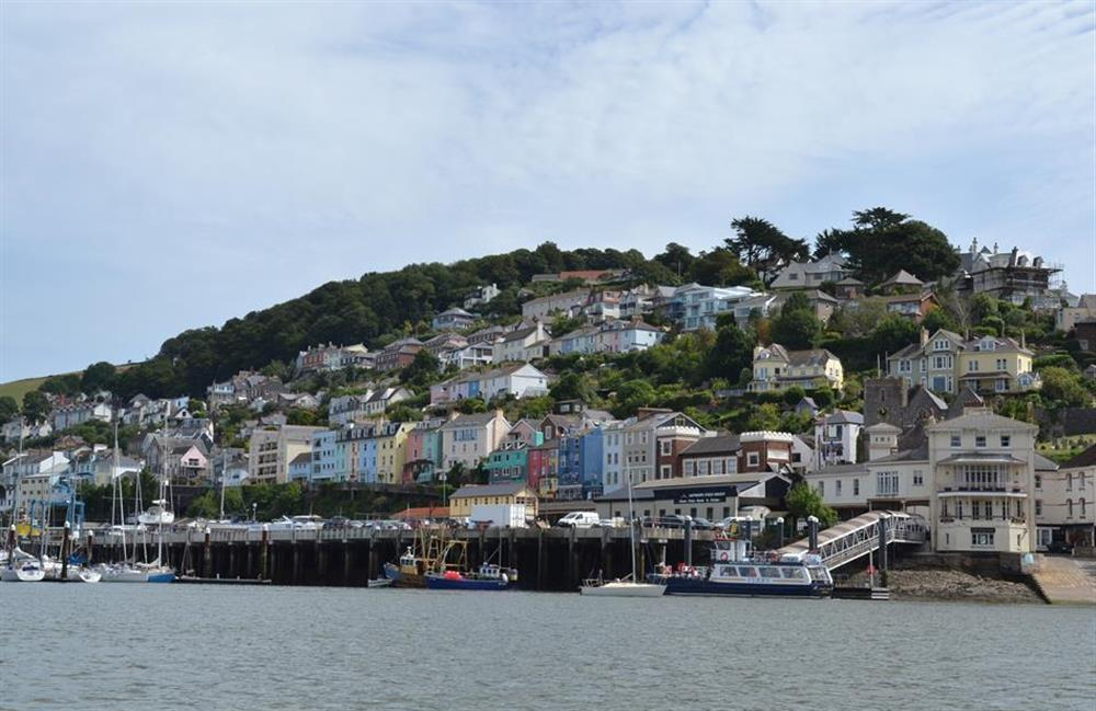 Colourful Kingswear at Slipway House, Dartmouth