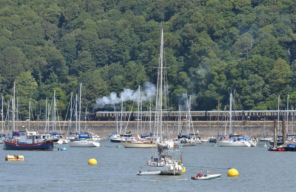 Enjoy the popular steam train trip from Kingswear to Paignton at Slipway House, Dartmouth