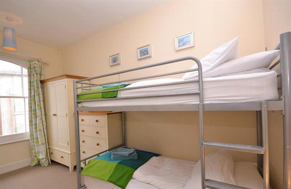 The bunk bedroom at Slipway House, Dartmouth