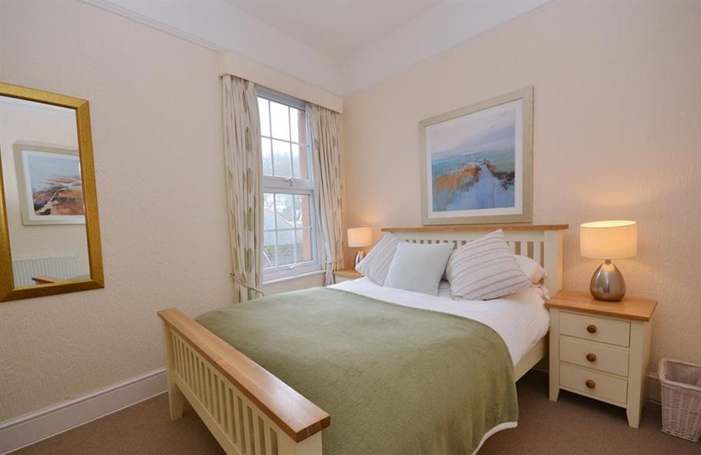 The second double bedroom at Slipway House, Dartmouth