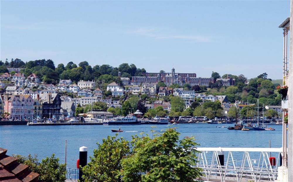 Views enjoyed from Slipway House at Slipway House, Dartmouth