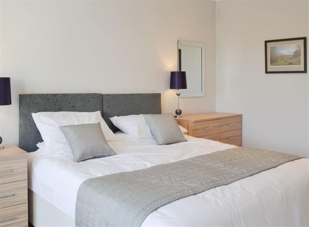 Comfortable double bedroom at Smithfield House in Tarbolton, near Ayr, Ayrshire