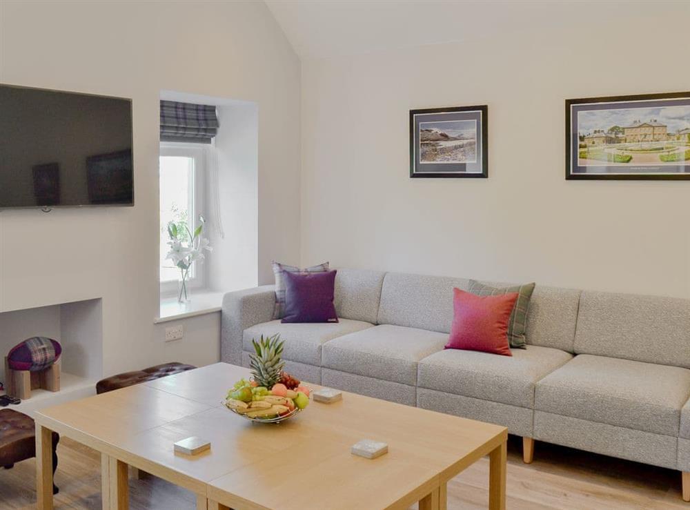 Comfortable living room at Smithfield House in Tarbolton, near Ayr, Ayrshire
