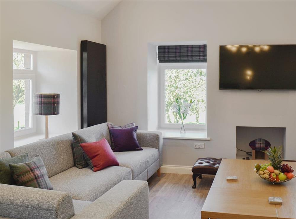 Comfy living room at Smithfield House in Tarbolton, near Ayr, Ayrshire