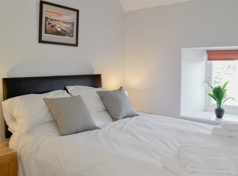Double bedroom at Smithfield House in Tarbolton, near Ayr, Ayrshire