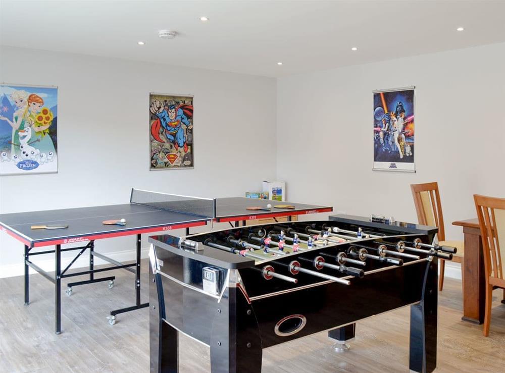 Games/ cinema room at Smithfield House in Tarbolton, near Ayr, Ayrshire