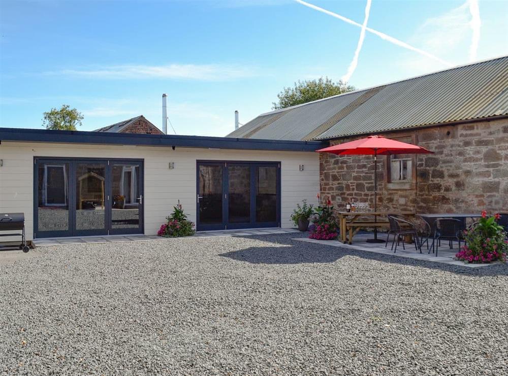 Games room at Smithfield House in Tarbolton, near Ayr, Ayrshire