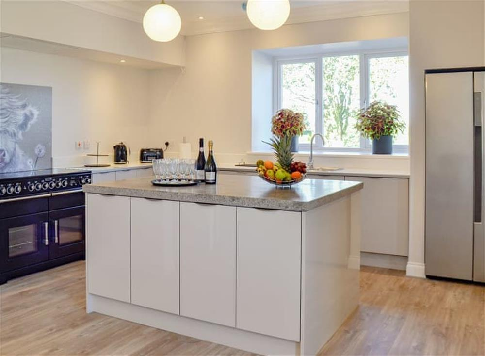 Spacious, well equipped kitchen at Smithfield House in Tarbolton, near Ayr, Ayrshire