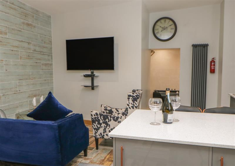 The living area at Softley View, Stanhope