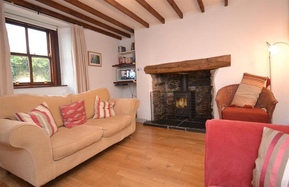 Snuggle up in front of the wood stove within the beamed lounge at Solstice, Blackawton