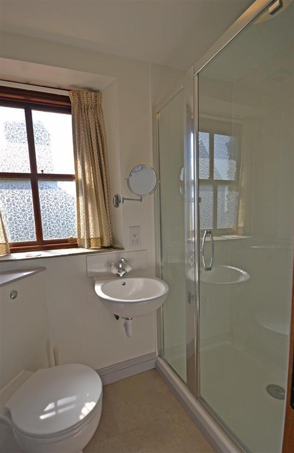 The first floor shower room at Solstice, Blackawton