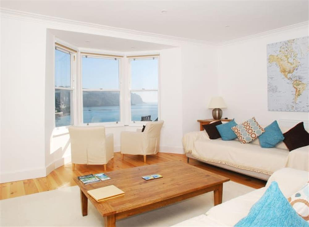 Living area (photo 2) at Solstice in South Devon, Dartmouth & Kingswear