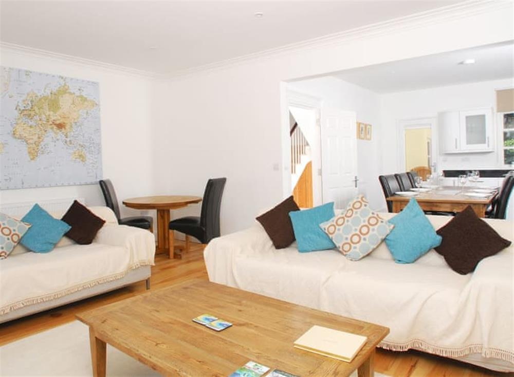 Open plan living space (photo 2) at Solstice in South Devon, Dartmouth & Kingswear