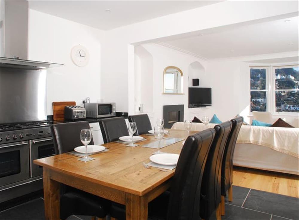 Open plan living space at Solstice in South Devon, Dartmouth & Kingswear