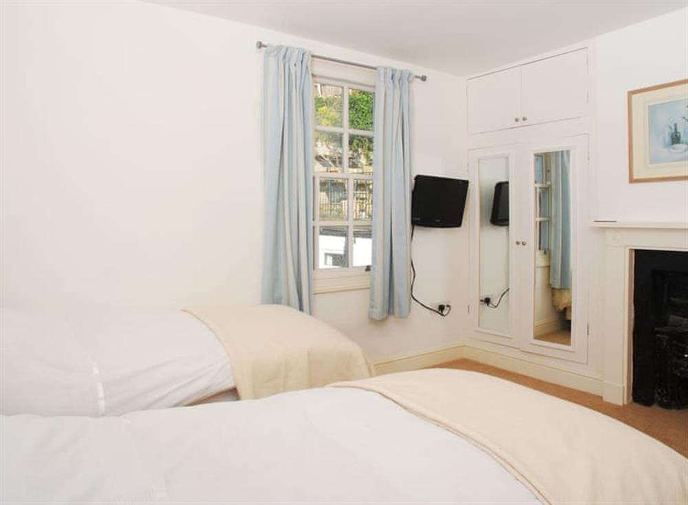 Twin bedroom at Solstice in South Devon, Dartmouth & Kingswear