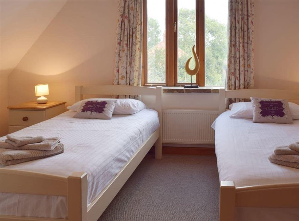 Twin bedroom at Sorrel in Great Yarmouth, Norfolk